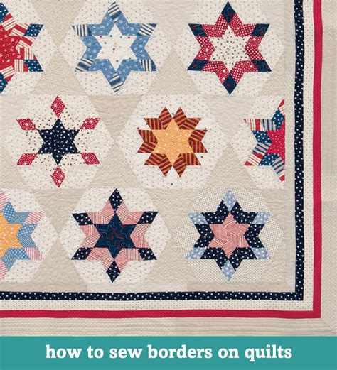 Sewing Quilt Borders by Free Quilting Tutorials Roundup Day 3 Finishing Your