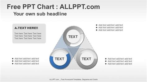 powerpoint templates free relationship 3 circle relationship ppt diagrams download free daily