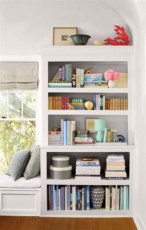 bookcase decorating ideas living room including best about