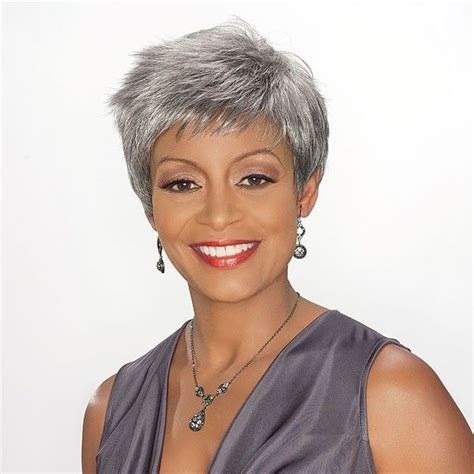 african american silver hair styles silver hair double click on above image to view full