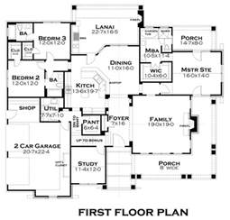 Plan Of House Craftsman Style House Plan 3 Beds 3 Baths 2267 Sq Ft