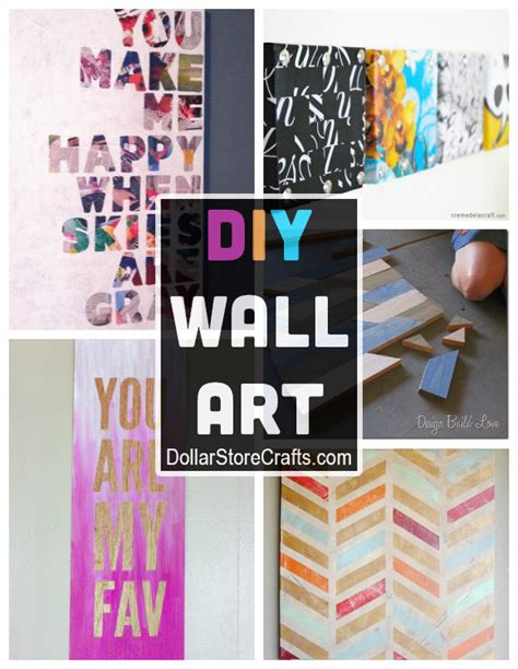 diy craft store 10 diy wall ideas from recycled materials 187 dollar