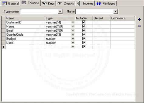 oracle tutorial create table oracle create table