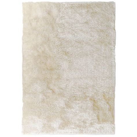 so silky rug home decorators collection so silky white polyester 5 ft x 7 ft area rug silky5x7w the home