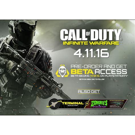 Bluray Ps4 Call Of Duty Infinite Warfare call of duty infinite warfare xbox one zavvi