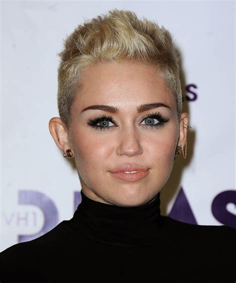 the name of mileys haircut miley cyrus short spiked punk miley cyrus hairstyles in 2018