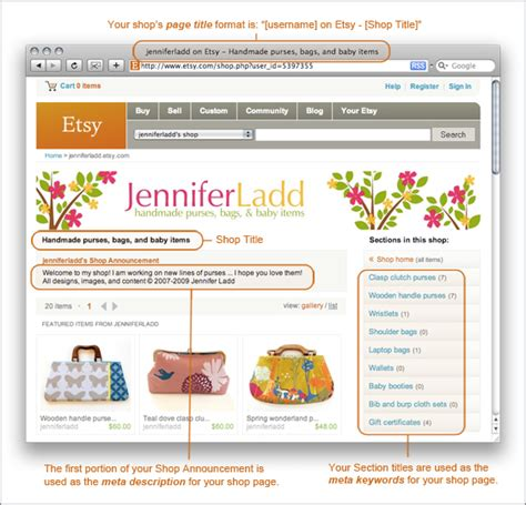 How To Search For On Etsy Seller How To Optimizing Your Etsy Shop For Search Engines Etsy Journal
