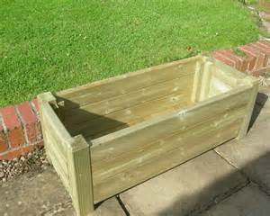 Flower Tubs Planters Plant Trough Garden Furniture Buy Quality Handmade