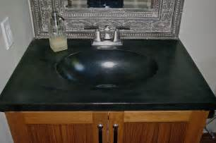 one bathroom sink counter concrete countertops 7c s building