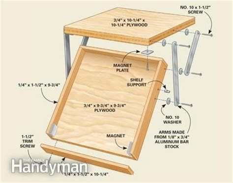 under cabinet drop down hinges 10 kitchen cabinet organizers you can build