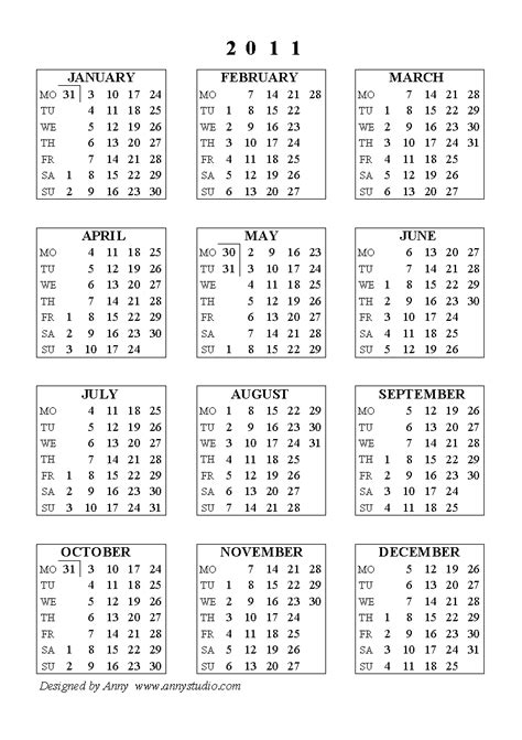 Calendar For 2011 Large Desktop Calendars 2011 Black And Yellow Baground
