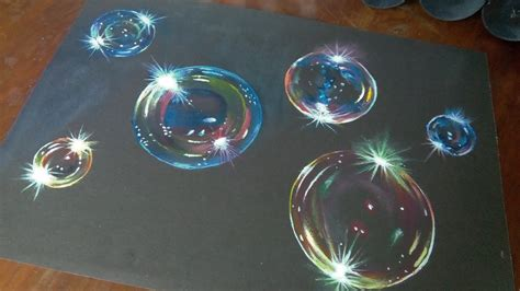 acrylic paint how to make black how to paint hyper realistic bubbles acrylic painting