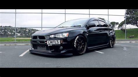 mitsubishi evolution 10 mitsubishi stanced evo evolution x 10 limitless