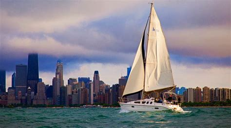 carefree boat club of chicago sailing chicago carefree boat club
