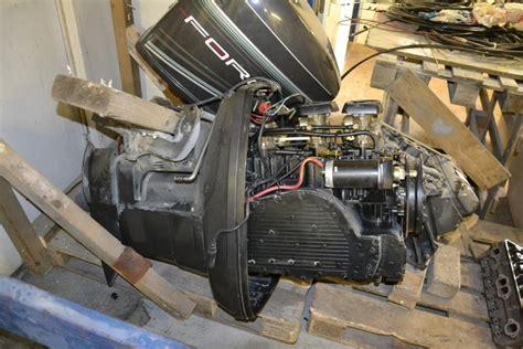 buitenboordmotor werking buitenboordmotor force 150 pk staartstuk de