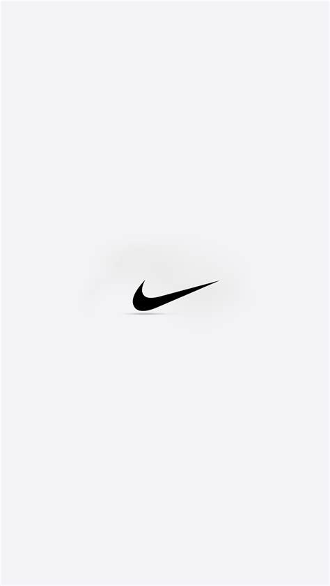 minimal nike logo gray shadow android wallpapers