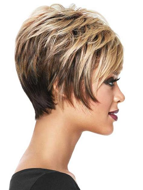 hair style short and stacked on top and long agled sides longer back 25 cool short haircuts for women short hairstyles 2017