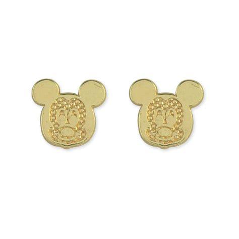 14k gold mickey mouse baby stud earrings jewelry earrings