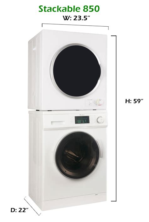 stackable washer and dryers equator appliances