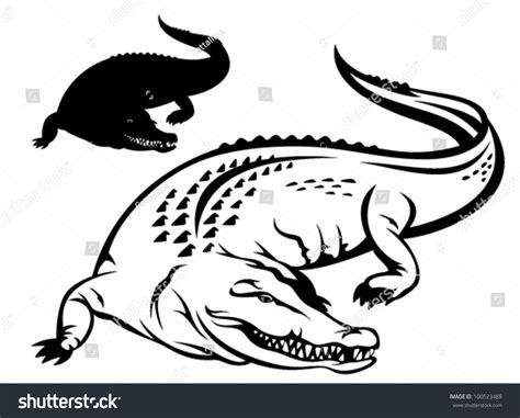 logo black and white crocodile crocodile vector black and white www pixshark