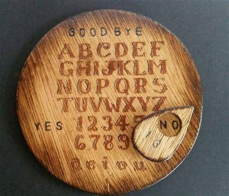 Handmade Ouija Board - handmade wooden ouija board planchette talking spirit