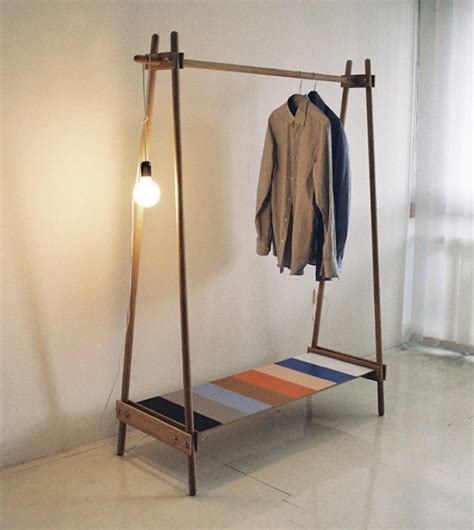 How To Make Garment Rack by 10 Easy Pieces Freestanding Wooden Clothing Racks Remodelista