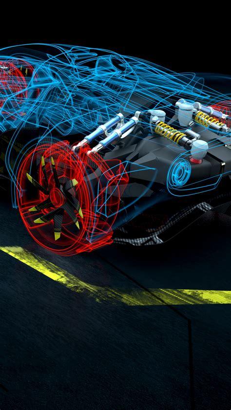 wallpaper rise race  future driving game racing