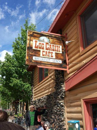 Log Cabin Cafe Frisco Co by Best Cinnamon Roll Picture Of Log Cabin Cafe