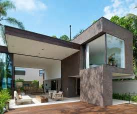 modern beach house on exotic location brazil architecture architectural drawings