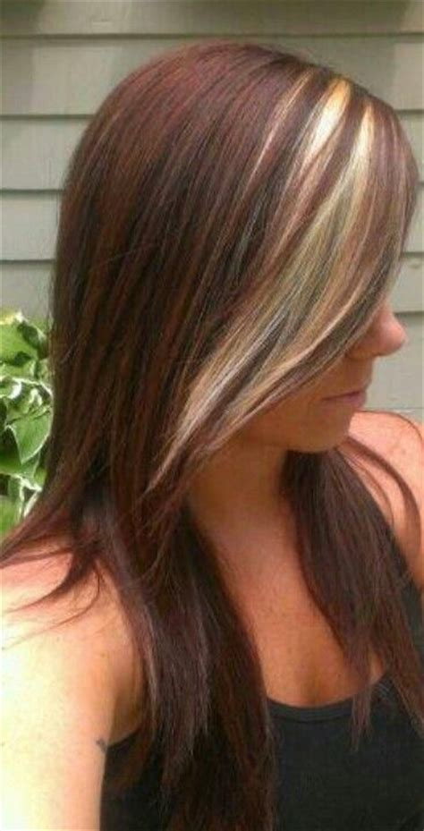 how to add colour chunks to hairstyles 35 best peekaboo lights images on pinterest braids hair