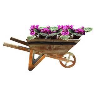small wheelbarrow planter overstock shopping great