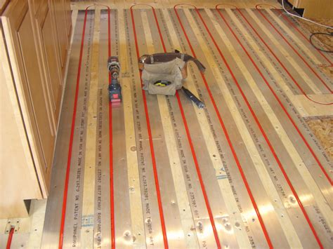 Water Radiant Heat Panels Radiant Heat Above Sub Floor Bhale