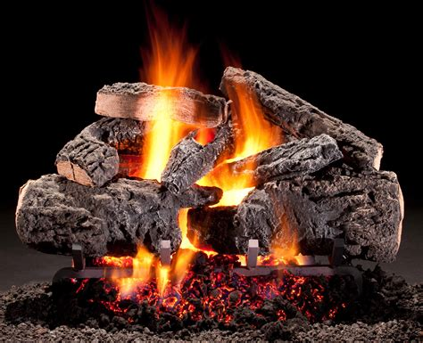 What Is A Gas Log Fireplace by Hargrove Gas Logs Radiant Heat Series Cross Timbers Emberwest Fireplace Patio The