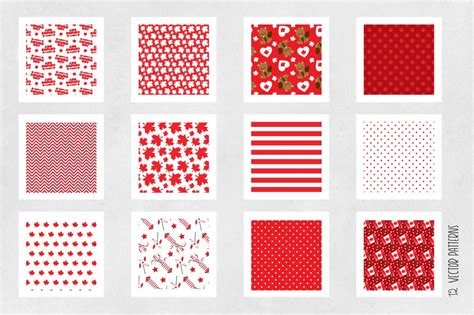 pattern paper canada canada day patterns collection digital papers by