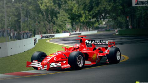 Ferrari W F1 by Gtxmotorsports F1 2005 Ferrari F2004m Melbourne Grand