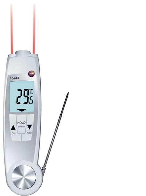 Thermometer Testo testo 104 and ir thermometer blanken controls b v
