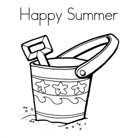 coloring pages pdf file 9 summer coloring pages free word pdf document