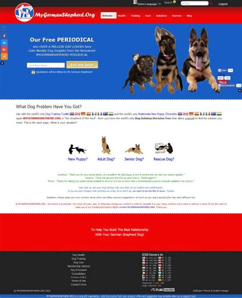 layout features of a website new website design all features explained