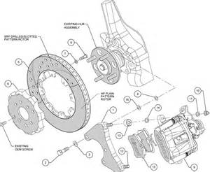Honda Civic Brake System Diagram Wilwood Disc Brake Kit Honda Civic Coupe Hb Sedan 6310