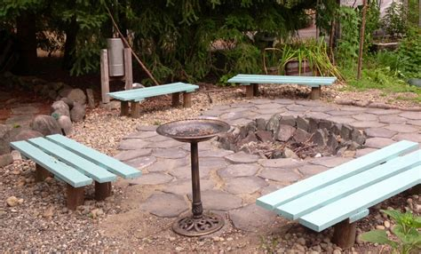 diy fire pit bench fire pit bench plans