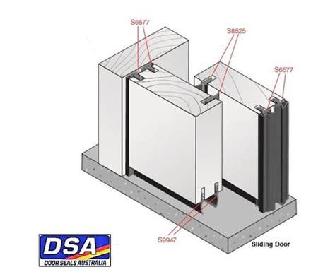 sliding doors seal folding and sliding doors airtight with door seals