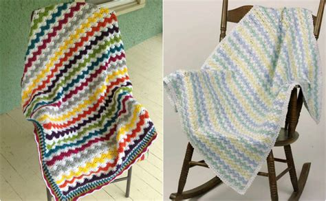 zigzag crochet baby afghan pattern zigzag crochet baby afghan pattern manet for
