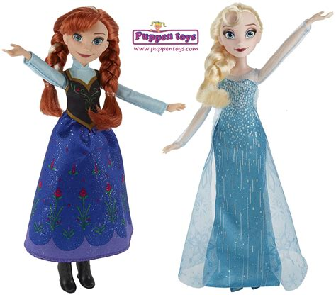 frozen and dolls frozen elsa disney doll hasbro juguetes puppen toys