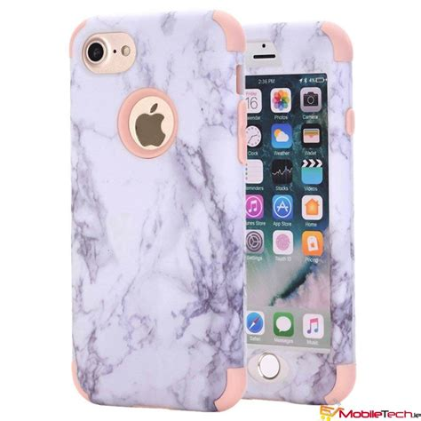 iphone  iphone  case marble cover rosegold