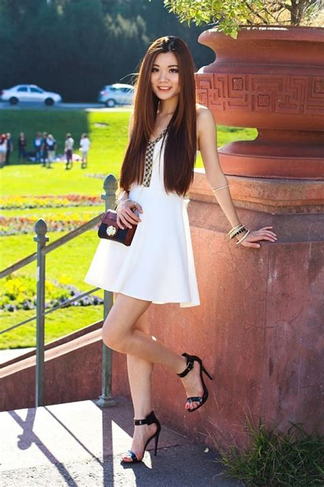 high heels and dresses white summer dress with black high heel sandals pictures