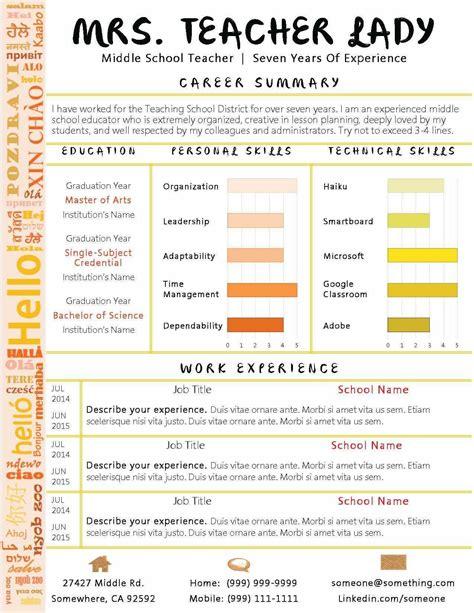 teacher resume samples writing guide resume genius