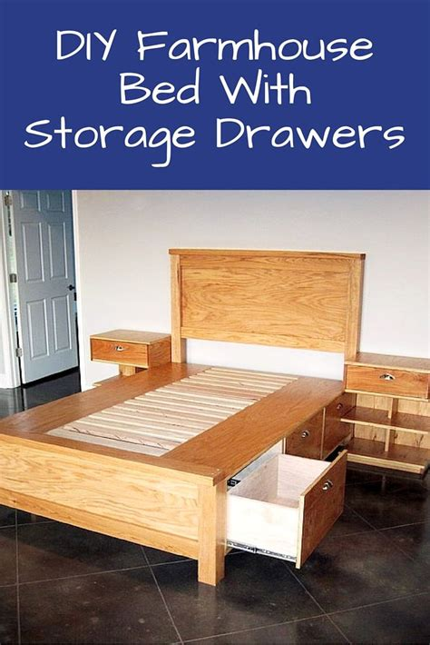 Diy Bed Storage Drawers by De 25 Bedste Id 233 Er Inden For Beds With Storage Drawers P 229