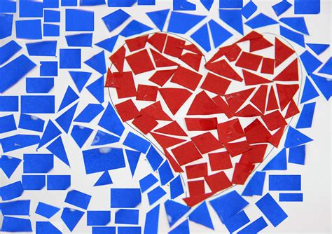 How To Make A Mosaic With Paper - how to make a paper mosaic with pictures wikihow