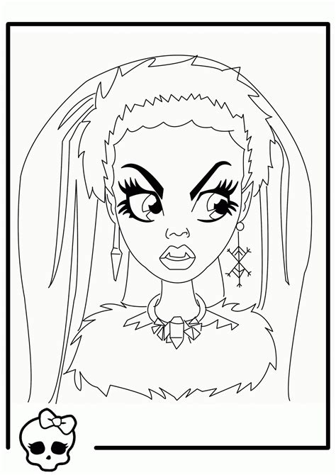 monster high dead tired coloring pages free monster high halloween coloring pages