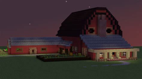Best Small House Designs In The World by Barn House Minecraft Project